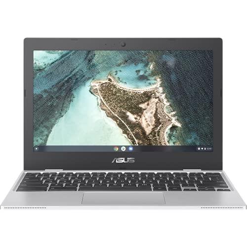 ASUS Chromebook CX1100CNA Ordinateur Portable 11.6 'HD (Celeron N3350, RAM 4 Go, eMMC 64 Go, Chrome OS) Clavier AZERTY Français