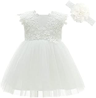 Baby Girls Dress Christening Baptism Party Formal Dress