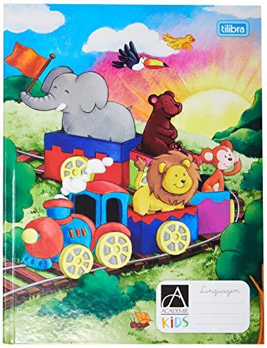 Caderno de Linguagem Brochura Capa Dura, Tilibra, Académie Kids, 18.7x24.5cm, 40 Folhas