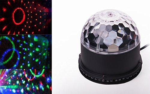 LED Disco Licht Discokugel Licht-Effekt Magic Ball DJ Party Discolampe Lichtkugel