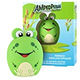 My Audio Pet Frog Mini Bluetooth Animal Wireless Speaker for Kids of All Ages - True Wireless Stereo Technology – Pair with Another TWS Pet for Powerful Rich Room-Filling Sound - (AMPEDphibian)