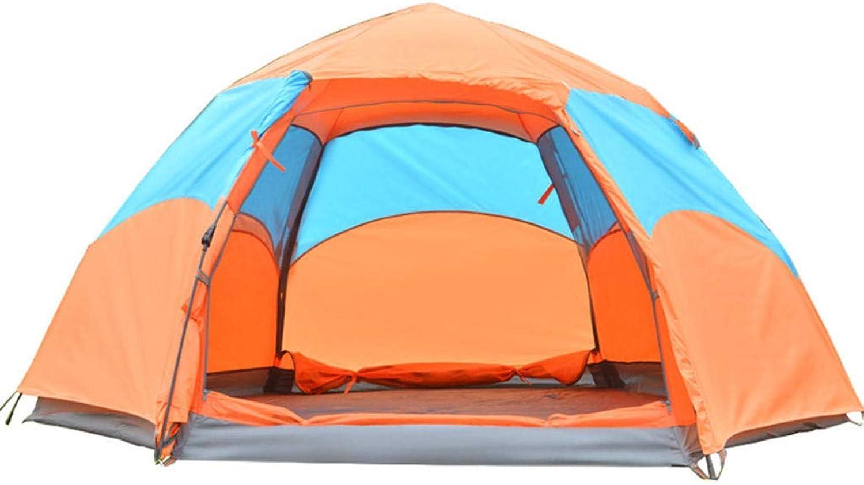 MODKOY Camping-Zelt, 3-4 Personen im im im Freien sechseckiges automatisches Zelt windundurchlässiges und regendichtes Reise-wesentliches B07GYNX639  Für Ihre Wahl 9bff40