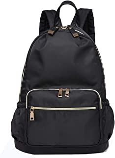 Classic Lightweight Backpack, Anti-theft Nylon Rucksack School, Water Resistant College Book bag Shoulder Purse Fits for 1...