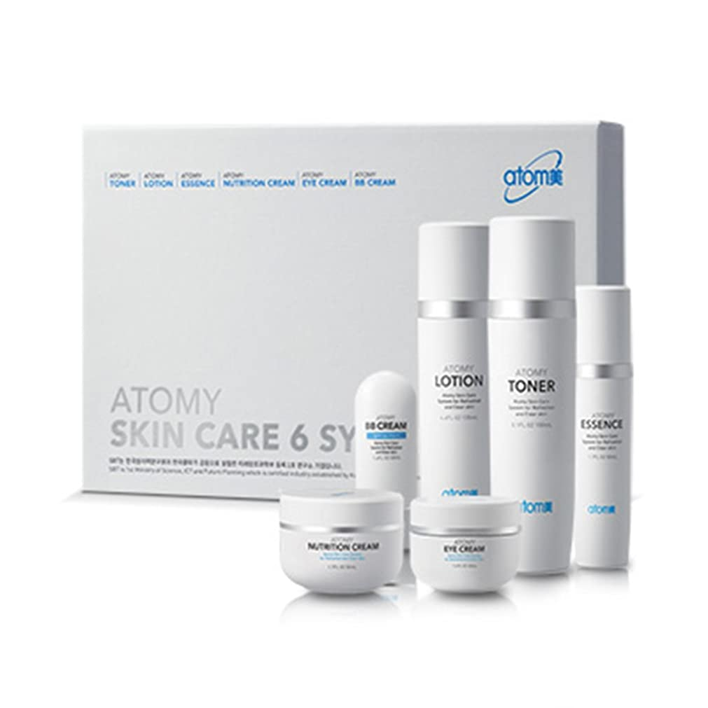決定契約する猫背[Atom美 アトミ/ Atomy] Atomi Skin Care 6 System/スキンケア6システム+[Sample Gift](海外直送品)