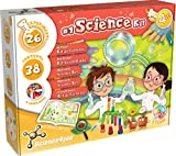 Science4you - Mon Premier Kit Scientifique pour Enfants +4 Ans - Kit Exploration avec 26 Expériences Scientifiques, Fait Bulles de Savon et Apprendre Les Couleurs, Jeux Éducatif pour Enfants 4 Ans