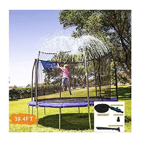 Jamicy 12m/39,4 Fuß Sprinkler Spielzeug Garten Garten Sprinkler Kinder Trampolin Sprinkler for Kids Wasser Sprinkler Spielzeug draussen-gartensprinkler für Kinder