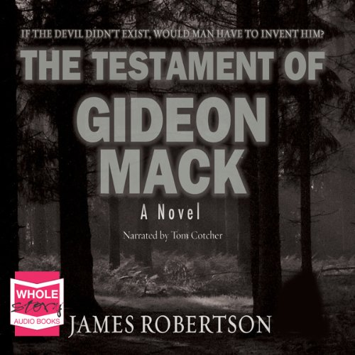 The Testament of Gideon Mack audiobook cover art