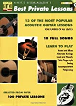 Acoustic Guitar Magazine's Best Private Lessons (GUITARE)