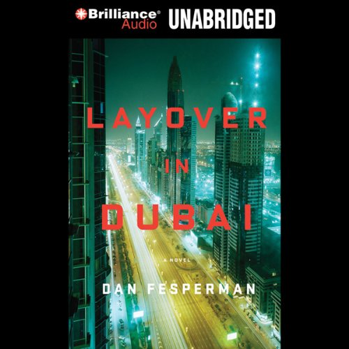 Layover in Dubai audiobook cover art