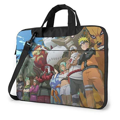 Bolsa de Mensajero de Hombro para computadora portátil, Anime NAR-uto Shippuden All Tailed Beast Fondos de Pantalla Bolso Funda para computadora