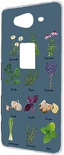 AQUOS ZETA SH-01H ケース ハードケース 【花柄:ブルー】 ガーデン アクオス ゼータ スマホケース 携帯カバー [FFANY] flowers-h190304