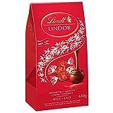 lindt lindor milk chocolate, jumbo bag with 52 truffles, 650g