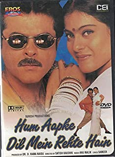 Hum Aapke Dil Mein Rehte Hain (Brand New Single Disc Dvd, Hindi Language, With English Subtitles, Released By Eros/DEI) Made In USA