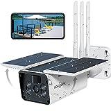 Koogeek Camara Vigilancia WiFi Exterior IP67,Camara de Vigilancia Exterior 1080P,Visión Nocturna Infrarroja,2 Audio,Detección de Movimiento,Alarma en Tiempo Real,Camaras de Vigilancia WiFi Exterior