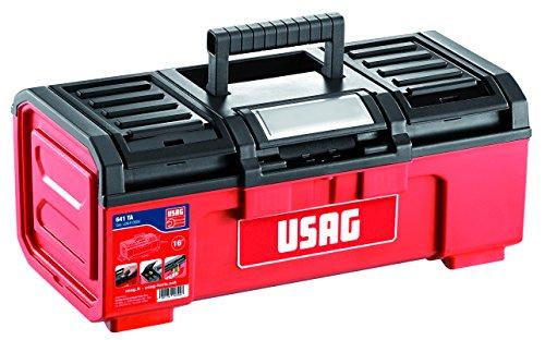"""USAG U06410004 - Caja de herramientas de 16"""" (vacía)"""