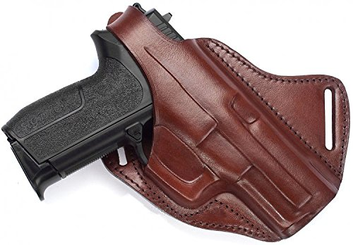 Falco Cross Draw Leather Holster for Glock 43