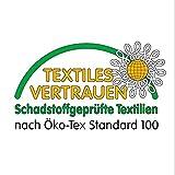 MODERNO Wachstischdecke Wachstuch Tischdecke Gartentischdecke abwaschbar eckig 100x140 cm kunterbunte Punkte - 3