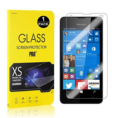 Bear Village® Displayschutzfolie für Microsoft Lumia 550, 9H Hart Schutzfilm aus Gehärtetem Glas, Ultra klar Displayschutz Schutzfolie für Microsoft Lumia 550, 1 Stück