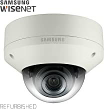 Samsung IPolis Wisenet POE IP Network 1080P 3.2MP Dome Camera Security Surveillance Outdoor Camera SNV-7084 for Home, Commercial Building Indoor and Outdoor (Manufacture Renewed)
