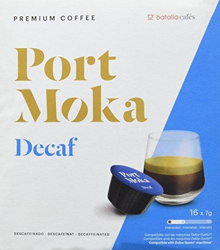 Port Moka Cápsulas de Café Decaf Compatibles Sistema Dolce Gusto - 4...