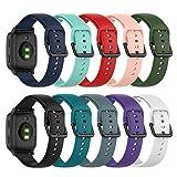 Chofit Correa compatible con Garmin Venu Sq Music/Venu Sq, banda de repuesto de liberación rápida de 20 mm, pulsera deportiva de...