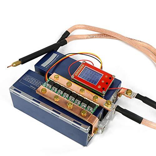 KKmoon Mini máquina de soldadura por puntos portátil,DIY y juego de bolígrafos para soldar batería
