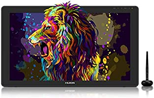 2020 HUION KAMVAS 22 Plus Graphics Drawing Monitor w/ Full Laminated QD Screen 140% sRGB, Android Support Battery-Free...