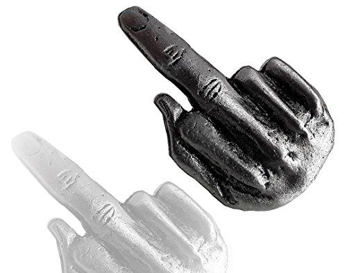 Daywalker Bikestuff Mittel Finger PIN Biker Badge Finger Stinkefinger Bad Finger Abstecker bleifreies Zinn