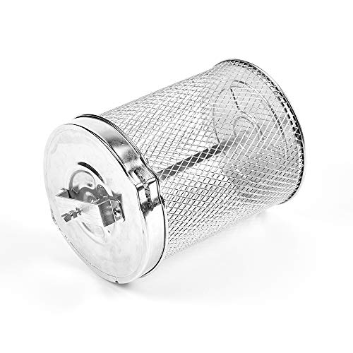 PowerXL Air Fryer Grill Rotisserie Basket Air Fryer Accessory Replacement Part, Stainless