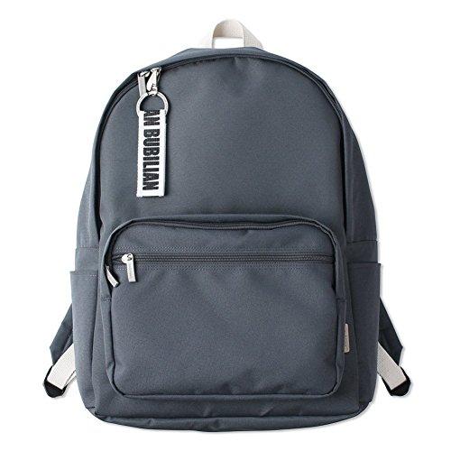Bubilian BTBB Backpack/Korean Street Brand/School Bag/Travel Bag (Dark Gray)