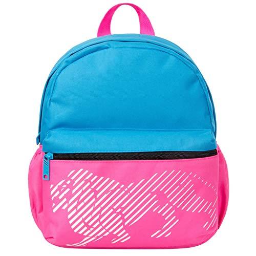 Lonsdale Unisex Mini Rucksack Reißverschluss Rosa/Blau Einheitsgröße