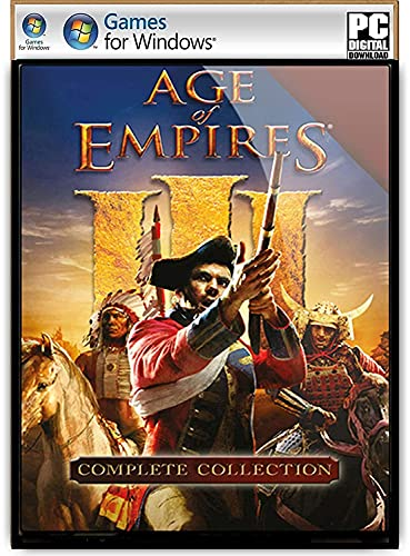AOE III Complete Collection, Digital Download – [ NO DVD/CD ] – [No Multiplayer/No Redeem Code] PC Game.