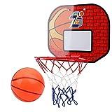 YC electronics Tipo de succión de Pared Tablero de Baloncesto Montado en la Pared Tablero de Baloncesto para Exteriores Deporte al Aire Libre Baloncesto Hoop