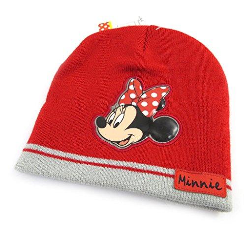 Minnie [L7844 - Bonnet Enfant Rouge