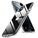 Humixx iPhone 11 Pro Max Hülle, HD Clear Handyhülle[Military Grade Drop Tested] PC Rückseite mit...