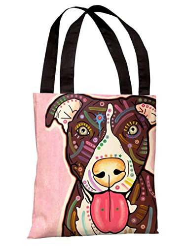 One Bella Casa 71863TT18P 18 in. Bliss Polyester Tote Bag by Dean Russo