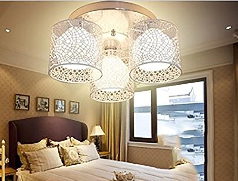Unbekannt GJ- Moderne einfache Beleuchtung Deckenleuchten Wohnzimmer-Lampen-Raum-Schlafzimmer-Lampe Study Lamp Restaurant Lampe Kinder Lampen (Farbe   Wei)