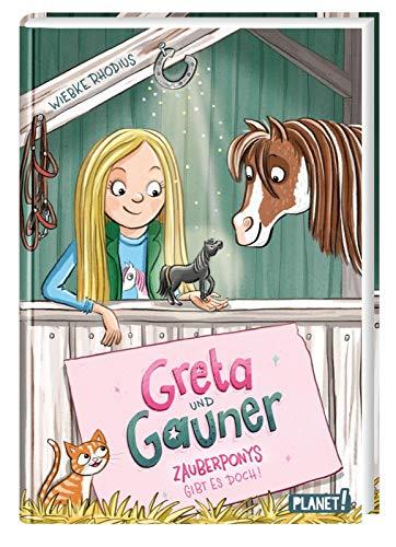 Zauberponys gibt es doch!: | Magische Pony-Geschichte für Mädchen ab 7 Jahren, mit Glitzer-Folie auf dem Cover (1) (Greta und Gauner, Band 1)