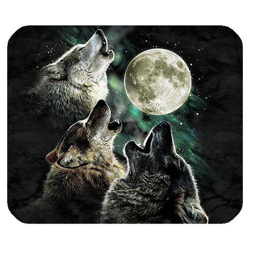 Personalized Wolf Customized Rectangle Non-Slip Rubber Mousepad Gaming Mouse Pad SunshineMP-042
