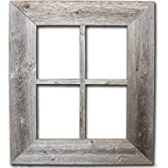 Old Rustic Window Barnwood Frames - Not For Pictures by Rustic Decor
