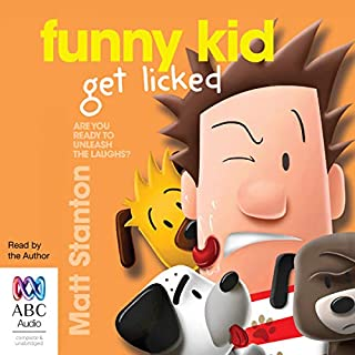 Funny Kid Get Licked! cover art