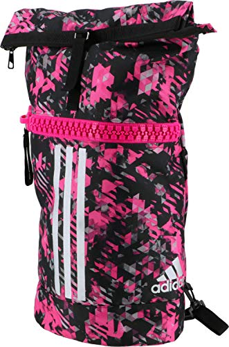 adidas Damen Military Bag Combat Sports Rucksack, Pink Camo/Silber, M