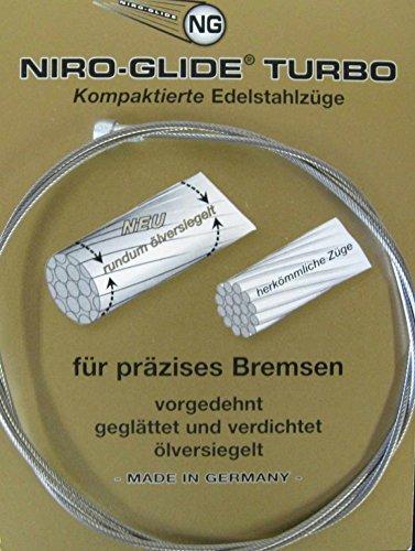 Diverse NF 205TE Bremszüge & -hüllen & -führungen, Schwarz, 2050 mm