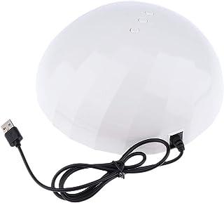 B Baosity ネイルアート 硬化ランプ タイマー機能 ネイルドライヤーランプ