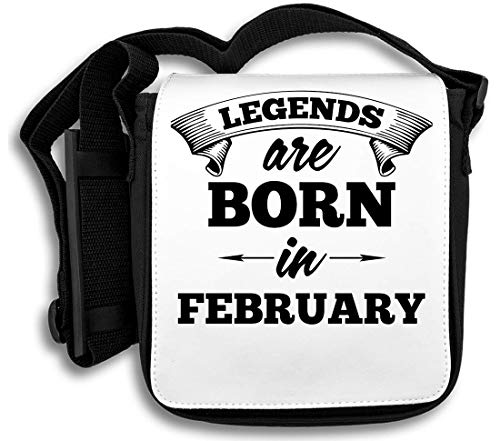 Legends Are Born in februari schoudertas