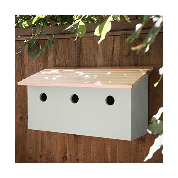 Plant Theatre Sparrow Loft - 3 Bird Nesting Terrace - Perfect Garden Gift