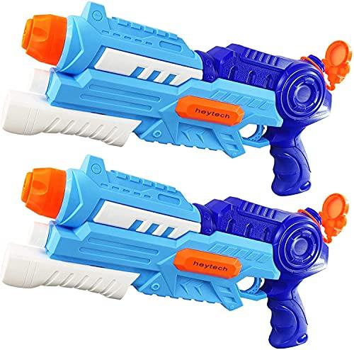 heytech 2 Pack Super Water Gun Water Pistol kids adults 1200ML High...