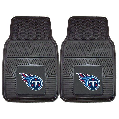 FANMATS 8776 NFL Tennessee Titans Vinyl Heavy Duty Car Mat,18'x27'