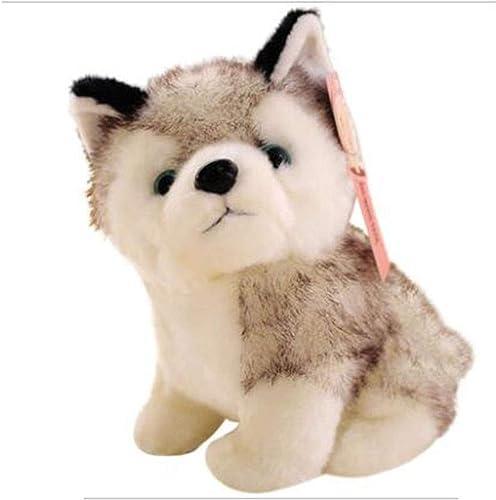 en linea GJ Linda simulación Husky Doll Doll Doll Peluche Juguete Cachorro Perro Super Lindo Dos Haha Doll (Talla   20cm)  tienda de ventas outlet
