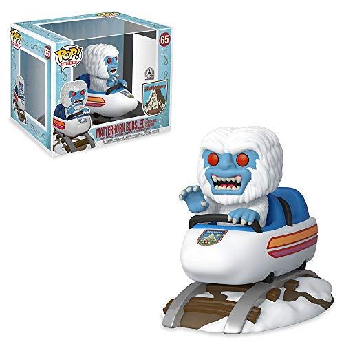 Funko Pop! Rides: Matterhorn Bobsled y Abominable muneco de nieve exclusivo Figura de vinilo #65